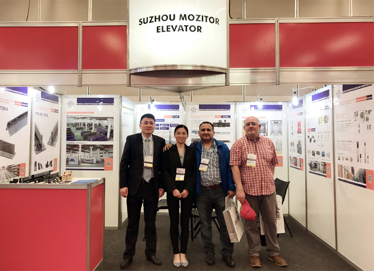 Mozitor Elevator Shines at 2018 Brazil International Elevator Exhibition