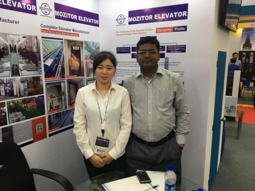 Suzhou Mozitor Elevator Co., Ltd.Attended The Bangladesh International Elevator Exhibition