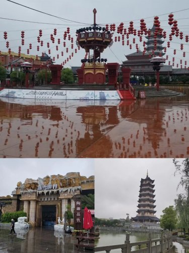 The three-day tour in Zhejiang